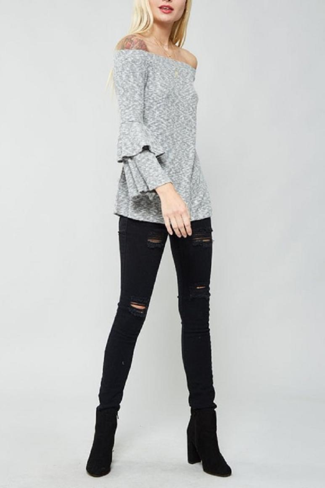 Promesa USA Bell Sleeve Top - Front Full Image