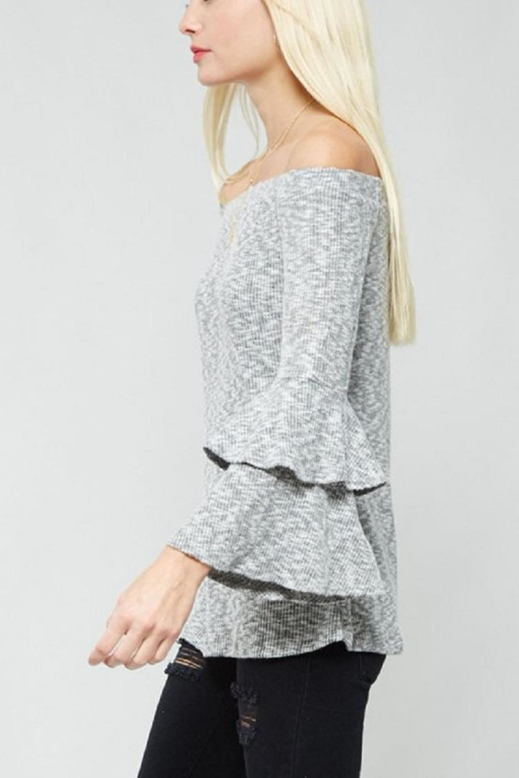 Promesa USA Bell Sleeve Top - Side Cropped Image