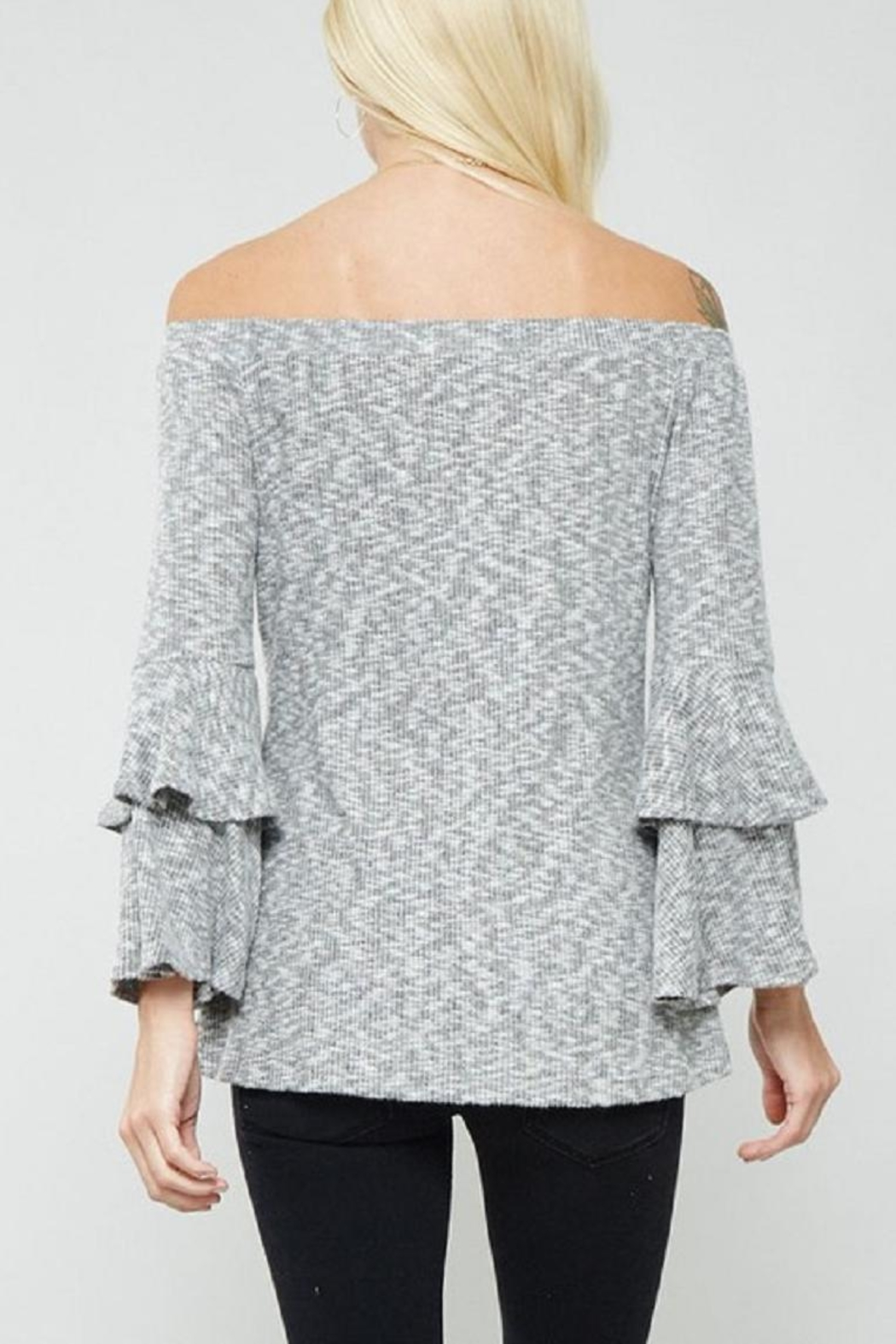 Promesa USA Bell Sleeve Top - Back Cropped Image