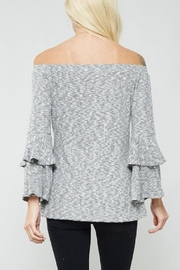 Promesa USA Bell Sleeve Top - Back cropped