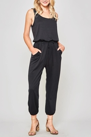 Promesa USA Black Knit Jumpsuit - Product Mini Image