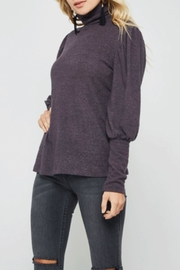 Promesa USA Brushed Purple Turtleneck - Product Mini Image