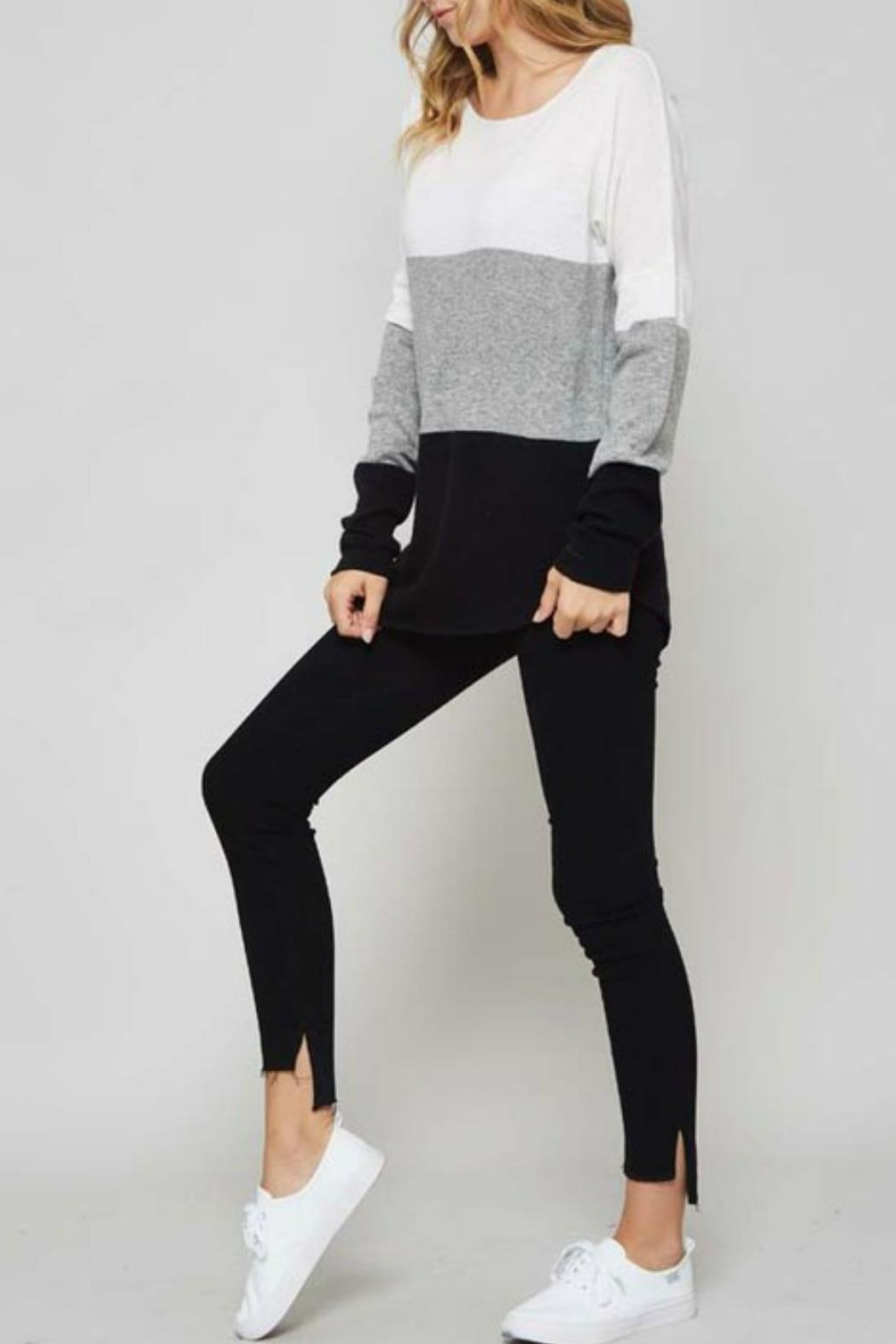 Promesa USA Colorblock Sweater - Front Full Image