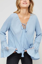 Promesa USA Cross Over Blouse - Product Mini Image