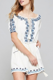 Promesa USA Embroidered Romper - Front cropped