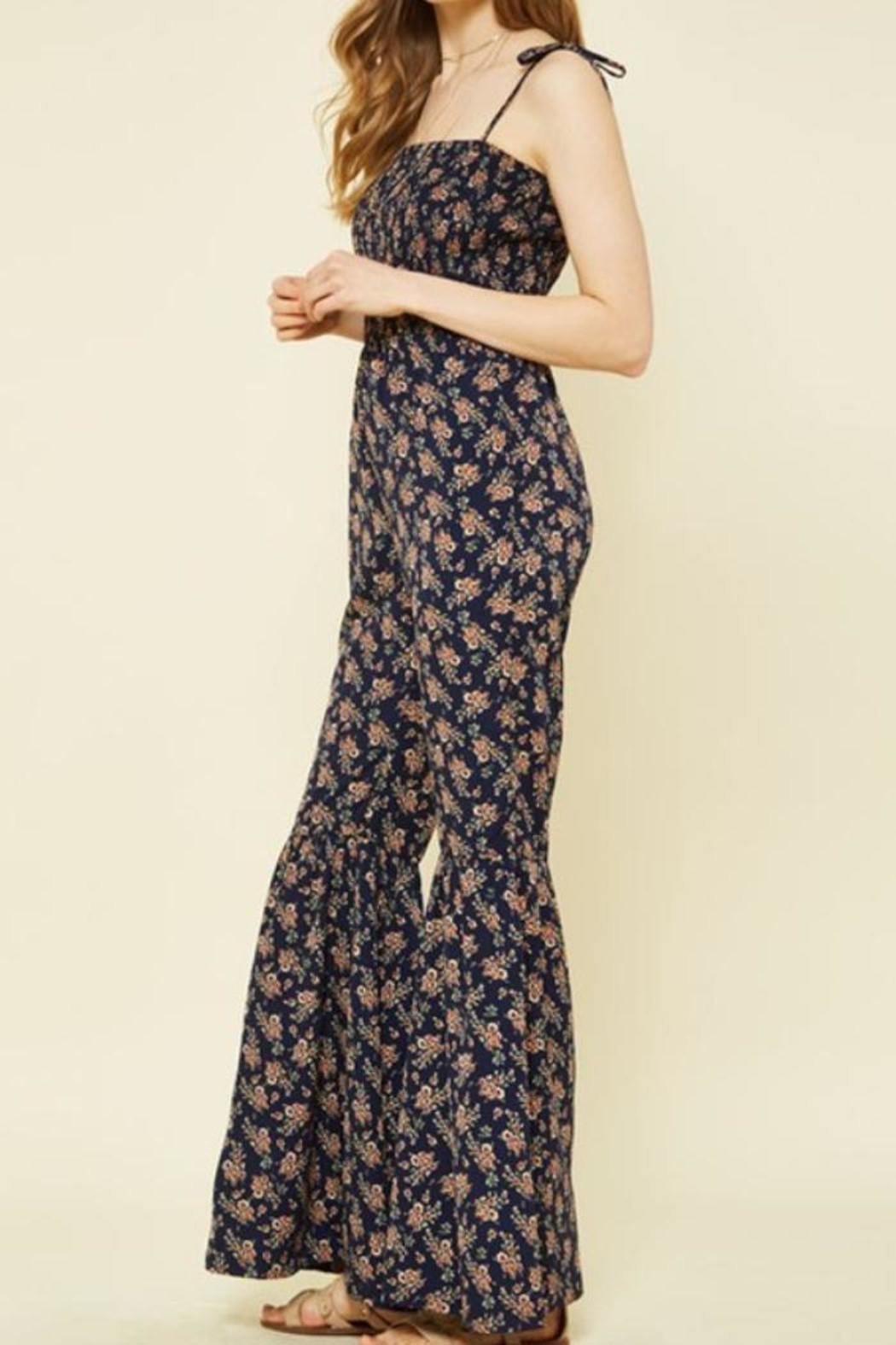 Promesa USA Floral Jumpsuit - Front Full Image