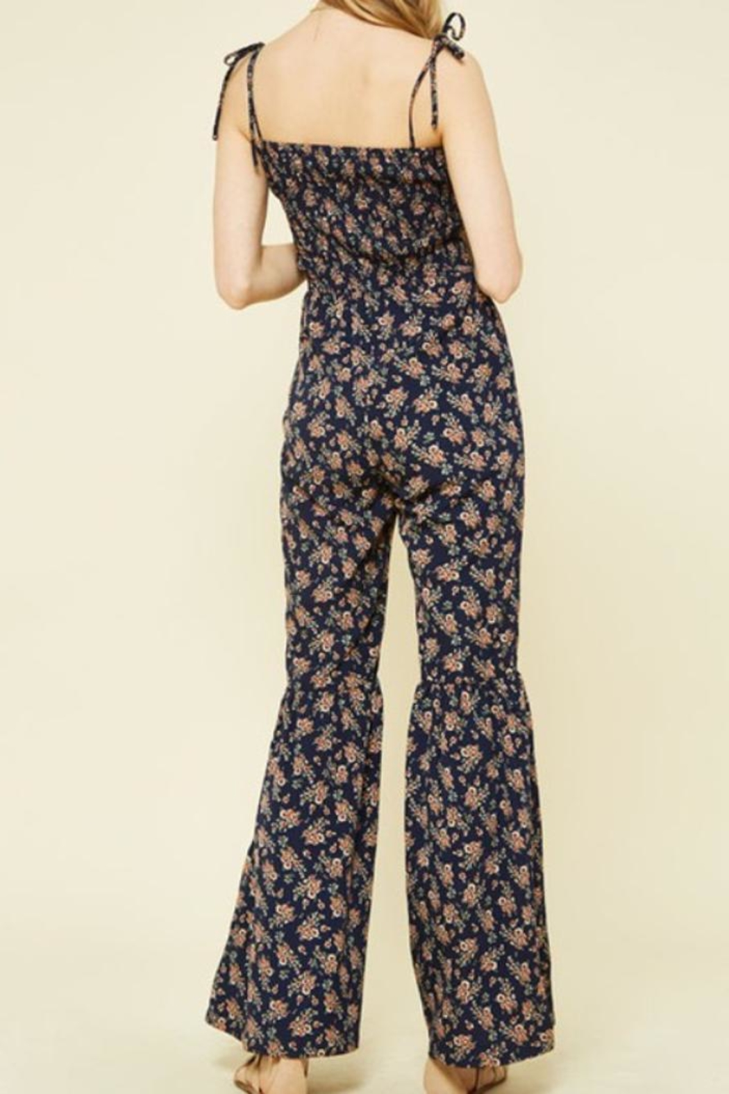 Promesa USA Floral Jumpsuit - Side Cropped Image