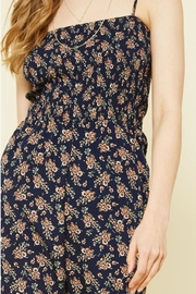 Promesa USA Floral Jumpsuit - Back cropped