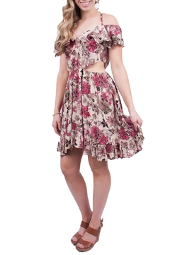 Promesa USA Floral Open Sided Dress - Product List Image