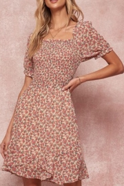Promesa USA Floral Print Dress - Front cropped