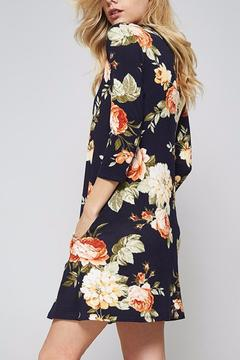 Shoptiques Product: Floral Round Neck Dress