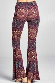 Promesa USA Indian-Print Bell Bottoms - Front full body