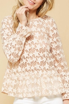 Promesa USA Lace Blouse - Product List Image