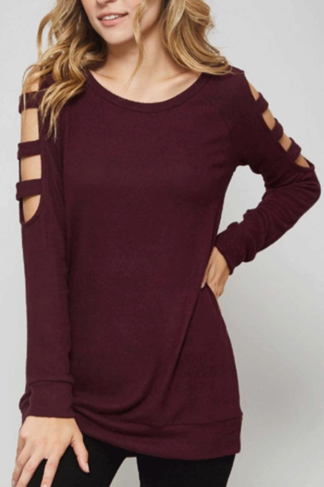 Promesa USA Ladder Long-Sleeve Top - Front Cropped Image
