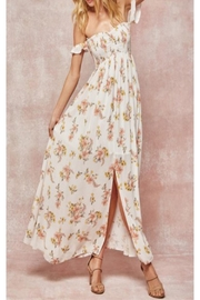 Promesa USA Offshoulder Floral Maxi - Front cropped