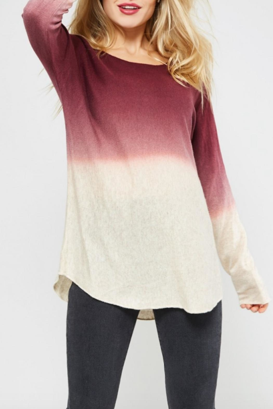 Promesa USA Ombre Sweater - Main Image
