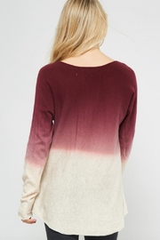 Promesa USA Ombre Sweater - Back cropped