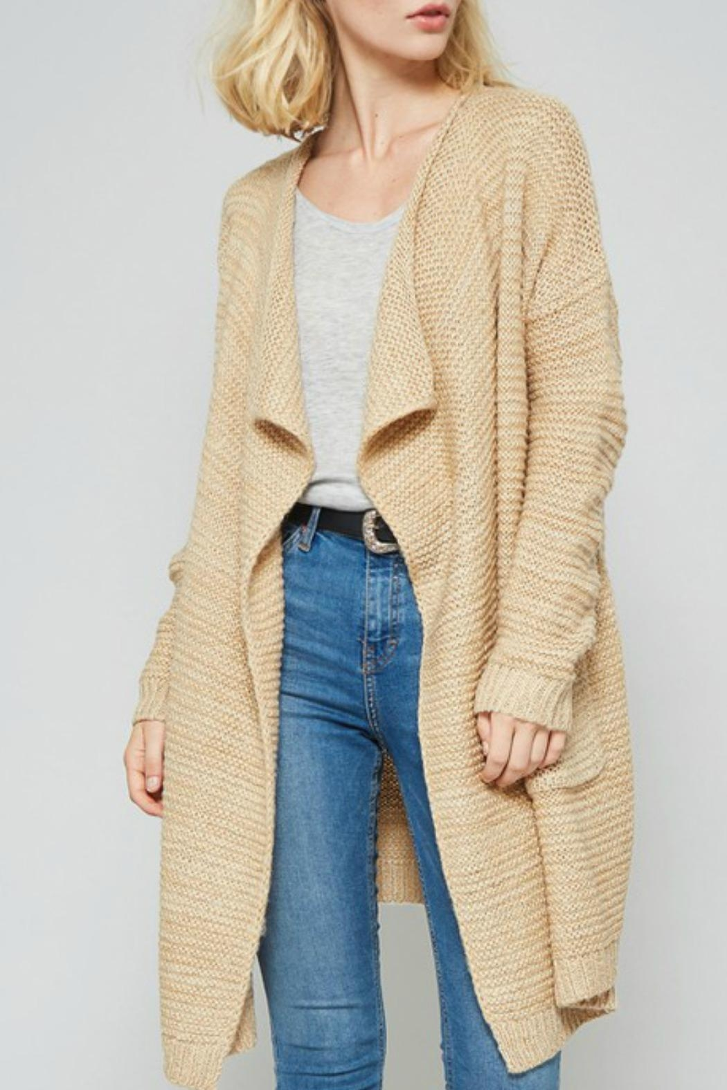 Promesa USA Open Front Cardigan - Front Full Image