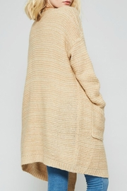Promesa USA Open Front Cardigan - Back cropped