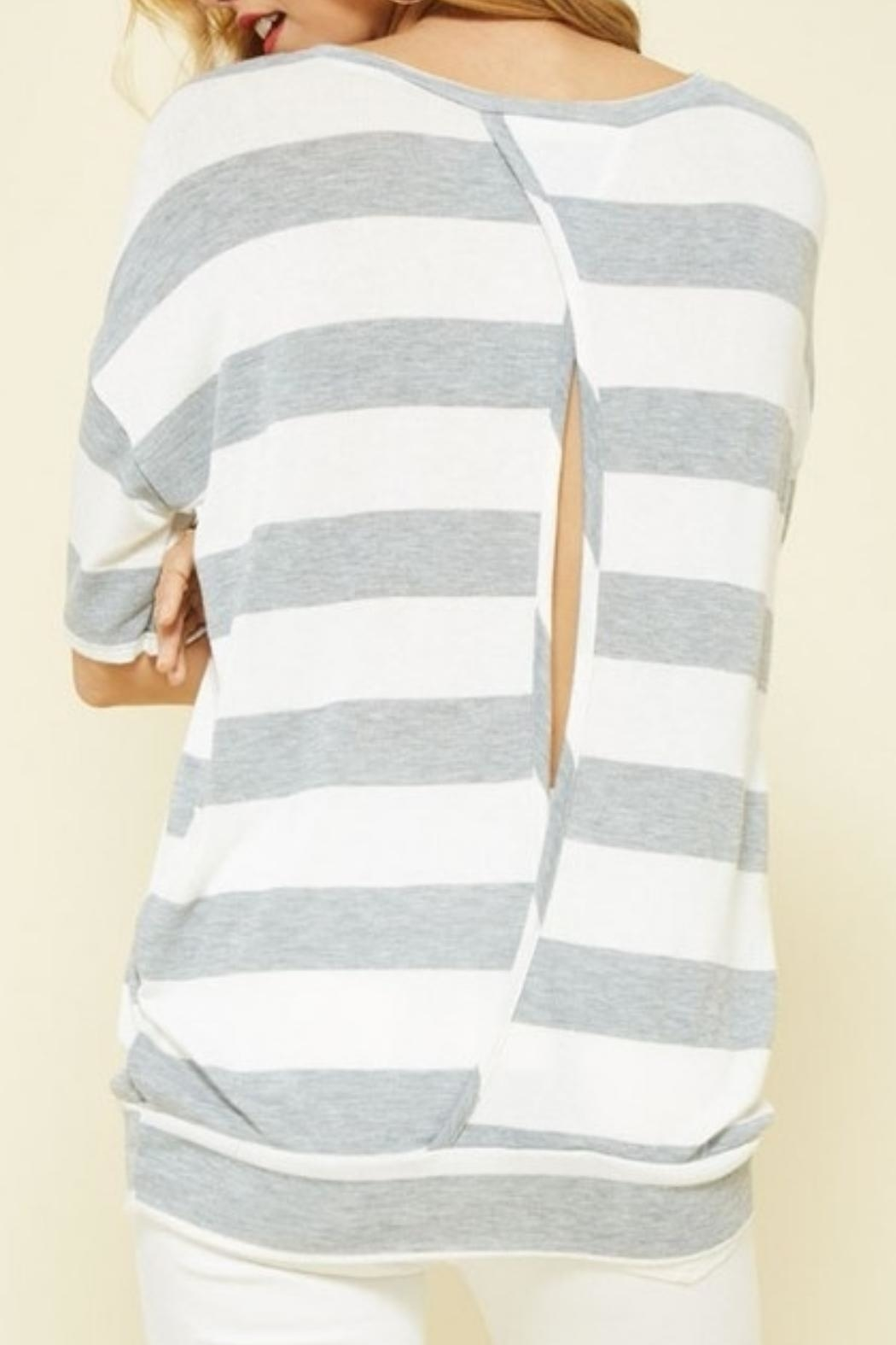 Promesa USA Open Knit Top - Front Full Image