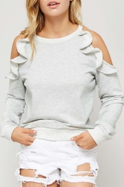 Promesa USA Open Shoulder Sweatshirt - Front cropped