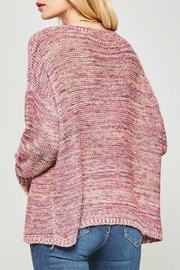 Promesa USA Oversized Drop-Shoulder Sweater - Front full body