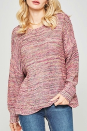 Promesa USA Oversized Drop-Shoulder Sweater - Front cropped