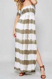 Promesa USA Strapless Maxi Dress - Product Mini Image