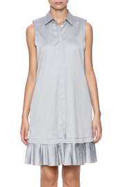 Prose & Poetry Pleat Shirt Dress - Side cropped