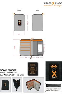 PROTOXTYPE Travel Wallet Passport - Alternate List Image