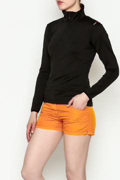 Shoptiques Product: Zippered Long Sleeve Top