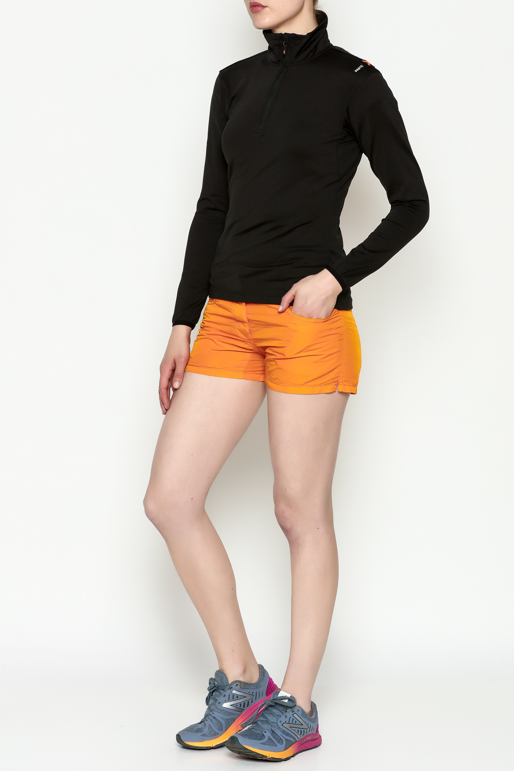 PROTOXTYPE Zippered Long Sleeve Top - Side Cropped Image