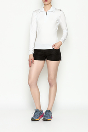 PROTOXTYPE Zippered Long Sleeve Top - Side cropped