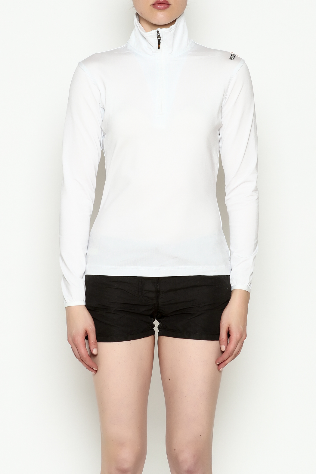 PROTOXTYPE Zippered Long Sleeve Top - Front Full Image