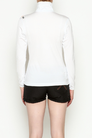PROTOXTYPE Zippered Long Sleeve Top - Back cropped