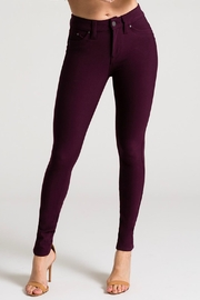YMI Prune Hyperstretch Pants - Product Mini Image