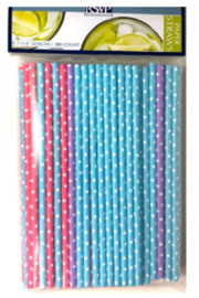 RSVP PS-100D Paper Straw -Dotted - Product Mini Image
