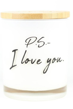 Unplug Soy Candles PS I Love You Soy Candle - Alternate List Image