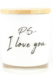 Unplug Soy Candles PS I Love You Soy Candle - Product Mini Image