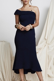 PS The Label Mind Games Midi-Dress - Front cropped