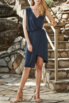 PS The Label Midnight Blue Sweepstaker Dress - Product List Image