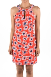 Aryeh Psychedelic Flower Dress - Product Mini Image