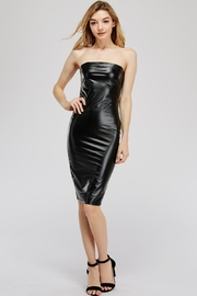 K too Pu Tube Dress - Front cropped