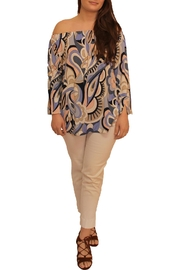 Last Tango Pucci Print Top - Product Mini Image