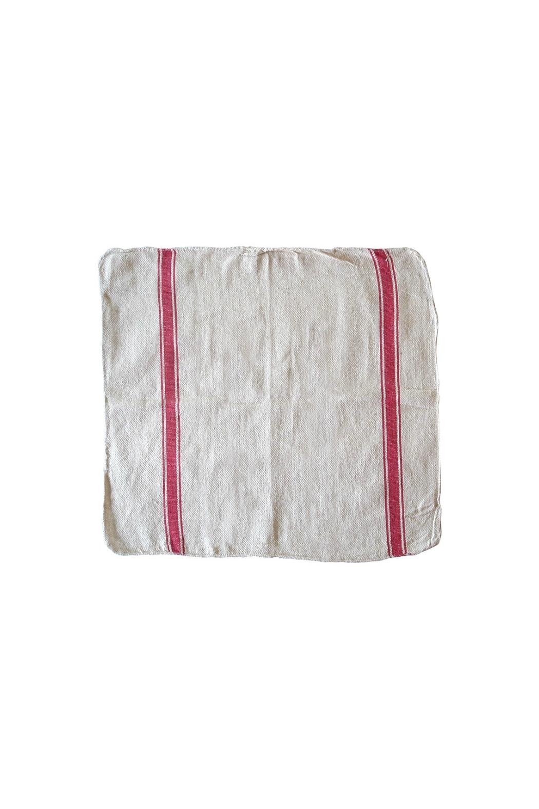 PUEBCO Red-Striped Dish Towel - Main Image