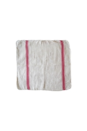 PUEBCO Red-Striped Dish Towel - Front cropped