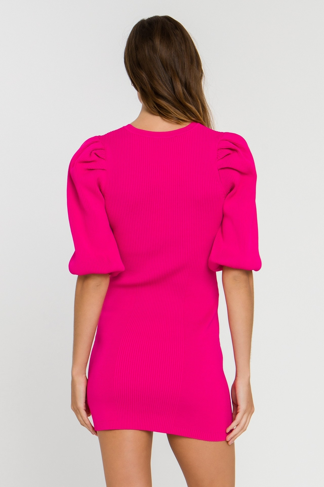 Endless Rose Puff Dreams Dress - Side Cropped Image