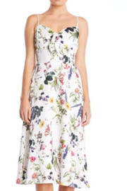 Bailey 44 Puff Pastry Print Satin Dress - Product Mini Image