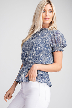 Glam Puff Shoulder Top - Product List Image
