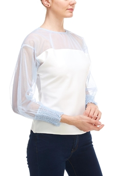 Shoptiques Product: Puff Sleeve Blouse